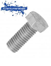 Bolt helgjenget M12x40 6KT DIN 933 8.8 VZ varmgalvanisert
