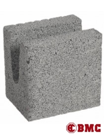 Murblokk U-Blokk 20cm lettklinkerblokk