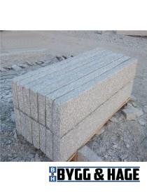 Kantstein naturlig hugget 10x25cm (95 til 105cm)