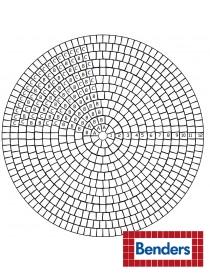 Troja sirkelsett Ø70cm