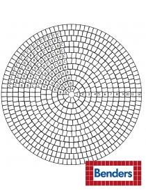 Troja sirkelsett Ø154cm