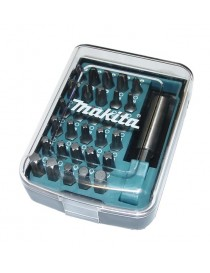 Bitssett med holder 31 deler Makita