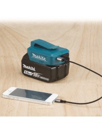 USB adapter for Makita batterier - lader telefon og andre enheter