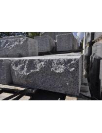 Blokk halvblokk granitt 20x20cm støttemur
