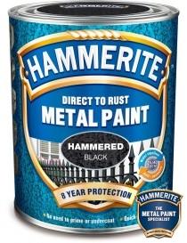 Hammerlakk 250ml svart Hammerite