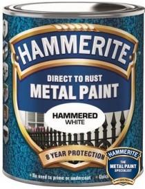 Hammerlakk 250ml gråhvit Hammerite