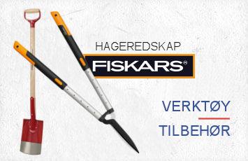 Hageredskap fra Fiskars og andre kvalitetsprodusenter