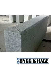 Kantstein prikkhugget med fas 1000x120x250mm