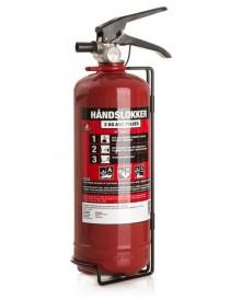 Brannslokker pulver 2kg DNV-godkjent