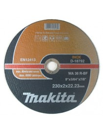 Kappeskive 230mm metall WA36R Makita