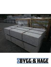 Portstolpe 300x300x2000mm prikkhugget granitt