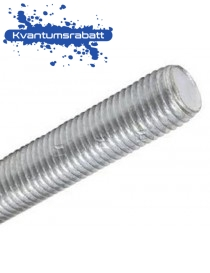 Gjengestang M20x1000 DIN 976 4.8 EZ elgalvanisert
