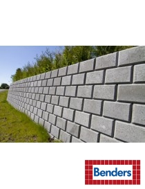 Miniblokk 25x28x17cm helblokk grå
