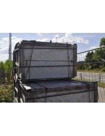 Blokk granitt 30x30x100cm prikkhugget støttemur