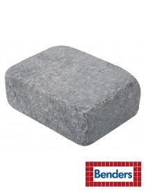Labyrint Halvstein 14x10.5x5cm gråmix