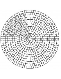 Troja sirkelsett Ø98cm