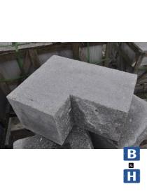 Blokk granitt 650x250x250mm