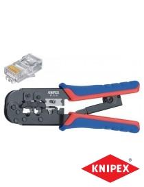 Knipex kympetang for modulærkontakter RJ11, RJ12, RJ45