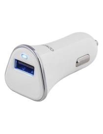 Billader 2.4A, USB A 12-24V DC inn