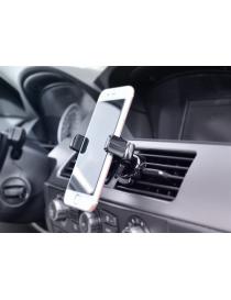 Mobilholder for luftventil i bil, roterbart klemfeste