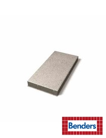 Helle grå 50x25x5cm med fas halvhelle