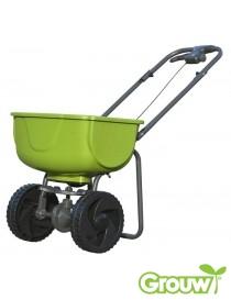 Gjødselspreder 30 liter med gummihjul