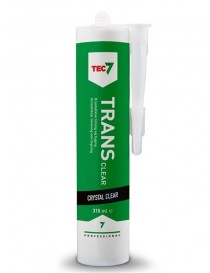 Tec7 klar fugemasse og lim Trans Clear 310ml