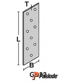 Hullplate 40x120x2mm