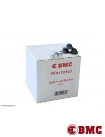 Stålspiker og brikker til dreneringsplast BMC Plastfol