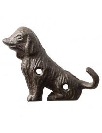 Krok for vegg - hund med hale som krok