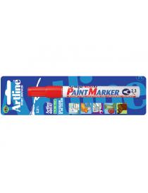 Tusj Paint Marker Artline 400XF Rød