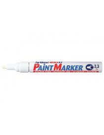 Tusj Paint Marker Artline 400XF Hvit