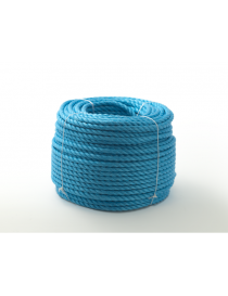 Tau polypropylen 3-slått blått