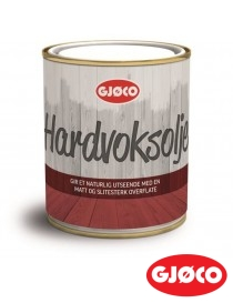 Hardvoksolje 0.68L Gjøco
