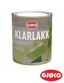 Klarlakk 15 vanntynnbar 0.75L Gjøco