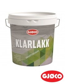 Klarlakk 15 vanntynnbar 3L Gjøco