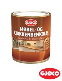 Møbel- og kjøkkenbenkolje 0.68L Gjøco