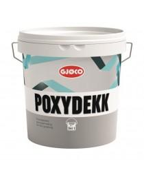 Poxydekk Epoxy gulvmaling Del 1 Base A 2.1L Gjøco