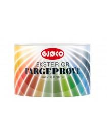 Fargeprøve Eksteriør Oksydrød 0.5L Gjøco