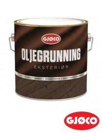 Oljegrunning Eksteriør Hvit 3L Gjøco