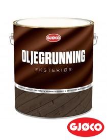 Oljegrunning Eksteriør Hvit 10L Gjøco