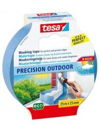 Maskeringstape Precision 25mm x 25m Blå Tesa®