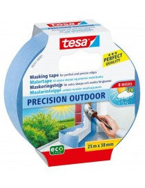 Maskeringstape Precision 38mm x 25m Blå Tesa®