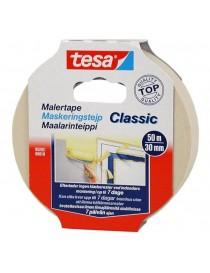 Maskeringstape PClassic 30mm x 50m Beige Tesa®
