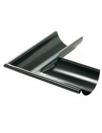Rennevinkel 03 stål 125mm 90 grader utvendig sort Icopal