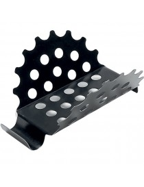 Løvfanger 41 stål 125mm sort Icopal