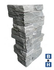 Steinpanel Beito fasadeskifer utvendig hjørne