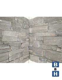 Steinpanel Beito fasadeskifer innvendig hjørne