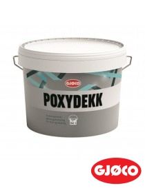 Poxydekk Epoxy gulvmaling Del 1 Base A 7L Gjøco