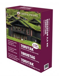 Plenfrø Torvtak 2.5kg Green Viking